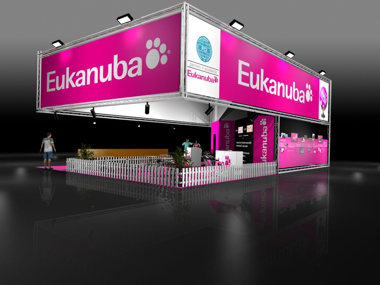 Exhibition Stand Visuals : Exhibition stand visuals iams eukanuba wordsearch ltd