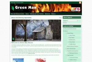 Website Design: Green Man Stoves