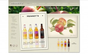Website Design: Henneys